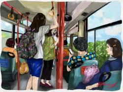 '서울의 달' 그 달동네 마을버스를 타다