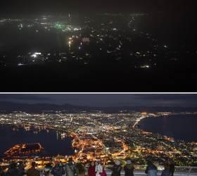 [홋카이도 르포] '<!HS>일본<!HE> 최고 야경' 하코다테의 밤은 암흑이었다