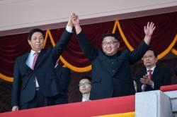 """[서소문사진관]북한 9ㆍ9절 열병식 현장…외신 """"ICBM은 없어"""""""