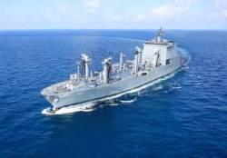 해군, 국내 최대 군수지원함 '소양함' 인도