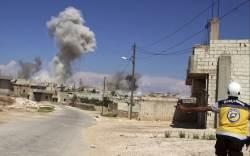 """美·英·獨 """"<!HS>시리아<!HE>군, 화학무기 사용시 즉각 공습"""" 경고"""