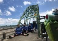 """자전거로 미국 횡단하며 """"독도는 한국 땅"""" 외친 대학생"""
