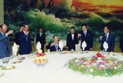 김대중·노무현 대통령 이어…문 대통령 환영만찬도 '목란관'에서