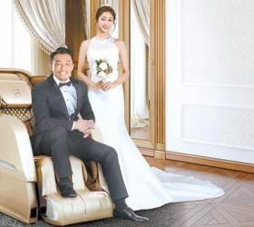 [Wedding&<!HS>Gift<!HE>] 안마의자 '위시 혼수품'으로 큰 인기… 정수기·모션베드도 렌탈로 부담없게
