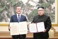 """김정은 """"미국 상응조치 땐 영변핵 폐기"""""""