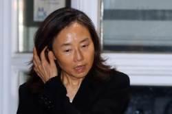 """조윤선, 추석 연휴 첫날 석방…""""남은 재판 성실히 임하겠다"""""""