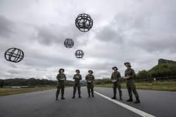 [서소문사진관]<!HS>드론<!HE>으로 전투를! 육군 <!HS>드론<!HE>봇 전투단 창설