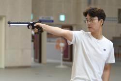 이대명, 경찰청장기 50m 권총 우승
