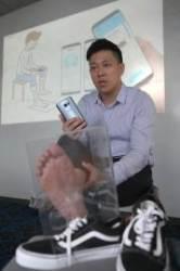 앱으로 발 사이즈 측정, 온라인으로 반품없이 신발 산다