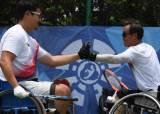2018 장애인 AG 휠체어테니스 은메달 따낸 김명제