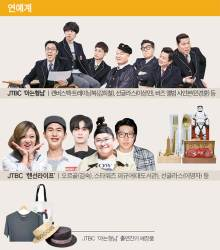 <!HS>김<!HE>희애 '재킷' 강호동 '티셔츠' 먹방 밴쯔 '금숟가락'