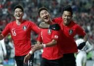 """'우루과이전 결승포' 정우영 """"축구인생에 꼽을만한 골"""""""
