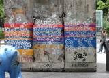 """<!HS>베를린장벽<!HE> 그라피티 활동가 상대 1000만원 민사소송…""""사회적 경종 차원"""""""
