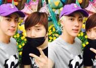 BTS JIN Congratulates his best friend Sandeul of B1A4 on His 100th Day as a Radio Host
