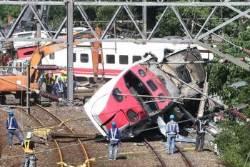 '208명 사상' 대만 열차, 곡선구간서 시속 140㎞ 달렸다