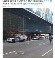 """뉴욕 타임워너 빌딩에도 '의문의 소포'…""""오마바·<!HS>클린턴<!HE> 겨냥 소포 유사"""""""