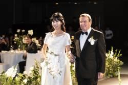 슈뢰더-김소연 부부 서울서 결혼식 축하연 개최