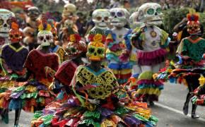 [서소문사진관] 멕시코에서만 열리는 '죽은 자들의 날' 축제