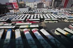 주 <!HS>52시간<!HE>이 불러온 경남 버스 파업 초읽기...밤샘 협상 예상