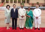 김정숙 여사, 16년만에 단독 외교···인도 총리와 면담