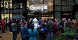 거리로 나온 전 세계 구글 직원들…'직장 내 <!HS>성추행<!HE>'에 뿔났다
