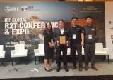 유철 카리스가드레일 대표, '국제도로연맹 혁신제품상' 수상