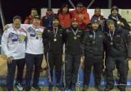 '훈련 부족' 봅슬레이팀, 시즌 첫 국제 대회 3위 '선전'