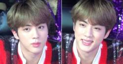 BTS JIN Who Made Eye Contact and Smiled at a Fan Who Called His Name