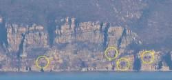 [단독] 백령도 15㎞ 앞 北장산곶, 포구 여전히 열려있었다