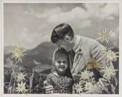 '연인'으로 불렸던 유대인 소녀를 안고 있는 히틀러