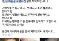 '인천 여고생 감금·폭행사건' 20대, 2심 징역5년 선고받자 불복 상고
