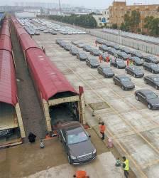 [사진] 독일~중국 화물열차 타고 온 벤츠