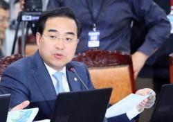 """박홍근 """"김성태 법적 대응 언급, 저로서는 대환영"""""""