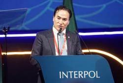 김종양 전 경기경찰청장, 한국인 최초 인터폴 총재 됐다