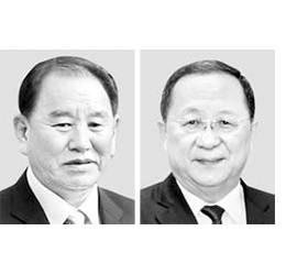 협상대표 김영철, 이용호로 바꿔라 … 미국, <!HS>북한<!HE>에 요구