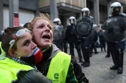 [<!HS>서소문사진관<!HE>]'노란조끼 '시위 전 유럽으로 번지나?