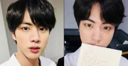 Happy BTS JIN Day!! Fans Touched By JIN's Handwritten Letter, Shocked by Pictures