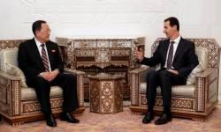 """北이용호, <!HS>시리아<!HE> 대통령과 면담…""""외부계략에 맞서 뭉쳐야"""""""