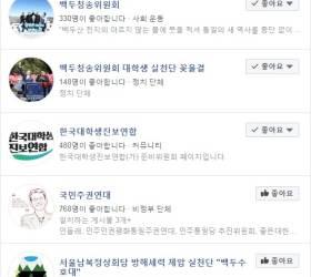 우후죽순 '김정은 환영 단체' <!HS>페이스북<!HE> '좋아요' 가장 많은 곳은?