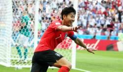 손흥민의 독일전 쐐기골, 축구팬이 선정한 '2018년 올해의 골'