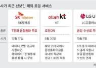 SKT 해외통화 무료 '신 로밍전쟁'
