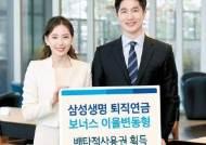 [비즈스토리] '퇴직연금 보너스 이율변동형' 독창성·유용성으로 6개월 배타적 사용권 획득