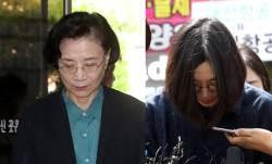'가사도우미 불법고용' 한진家 이명희 불구속기소…<!HS>조현아<!HE> 약식기소
