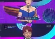 [KBS 연예대상] '개콘-다있쇼' 김니나·이승환, 코미디 부문 신인상
