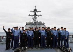 """해군 첫 이지스함 세종대왕함 취역 10년…""""대양해군으로 큰걸음"""""""