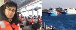 선장은 마지막까지 남았다…199명 여객선 성탄절 기적