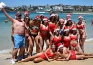 [서소문사진관] '핫(HOT)!'한 크리스마스... 기온 40도 넘은 호주