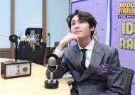 """리에, 방탄소년단과 시즌그리팅 촬영…""""뷔, 사진 관심 많아"""""""