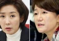"""철도 착공식에…與 """"환영"""" 나경원 """"文 데드크로스 여론조작용"""""""