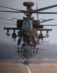 1대로 적 전차 16대 파괴···아파치 공격헬기 훈련 직접 보니